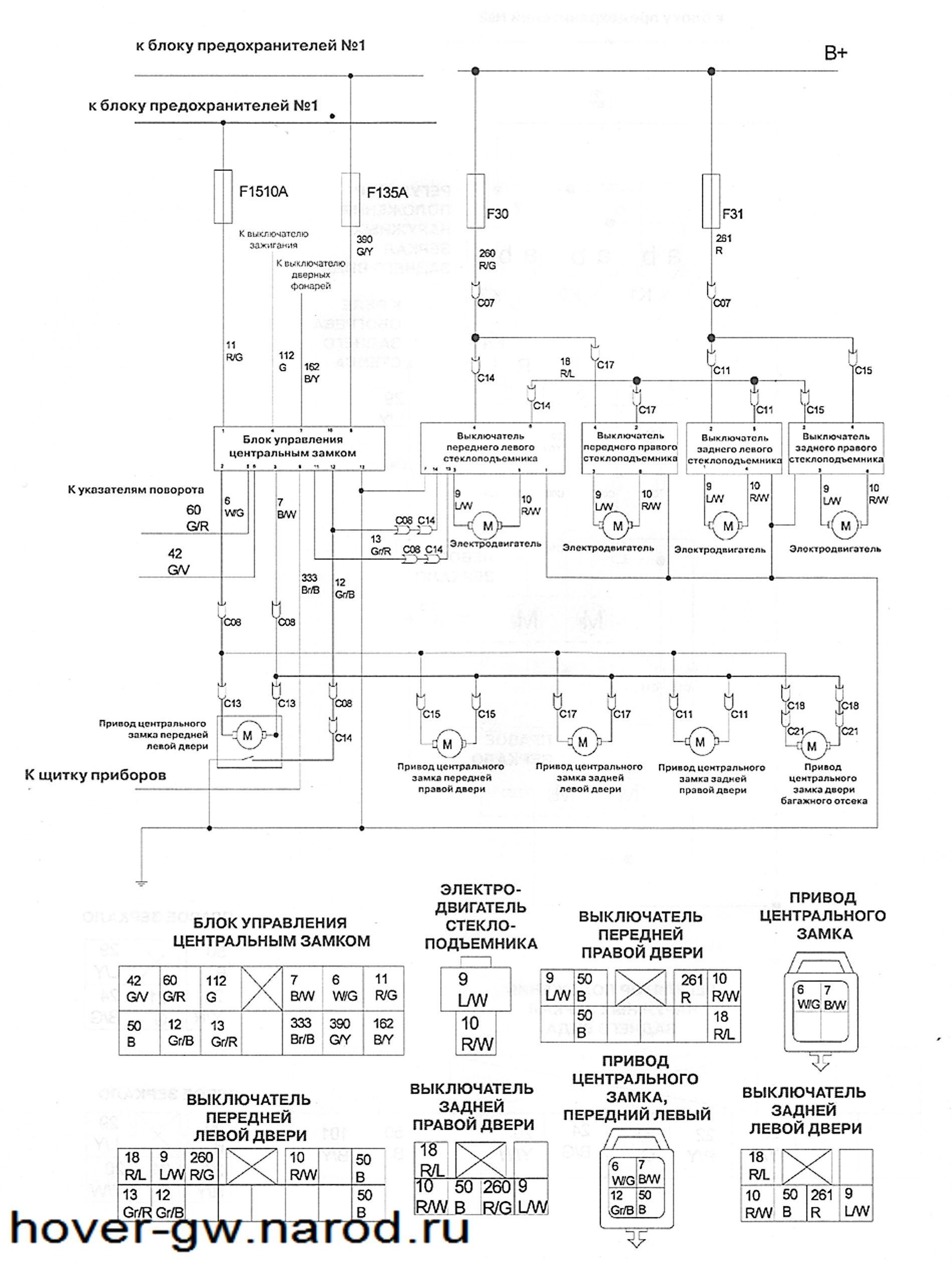 Грейт вол сейлор схема электрооборудования